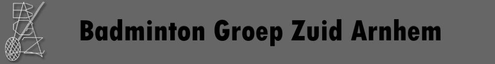 Badminton Groep Zuid Arnhem
